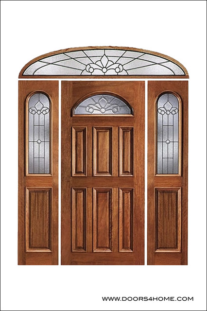 Unique Entry Doors Model # 103 - Traditional - Front Doors ...