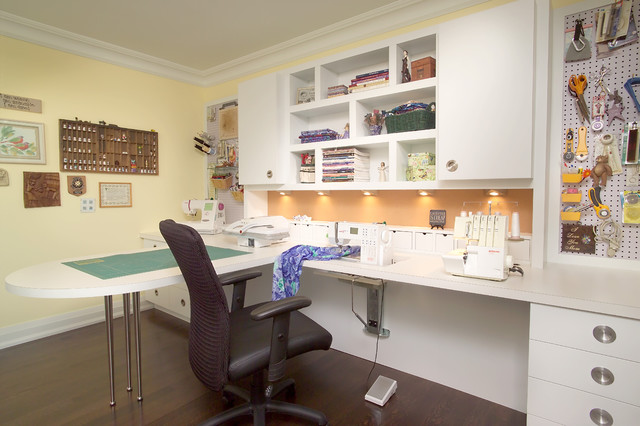 Richmond Hill Project Sewing Room Eclectic Toronto