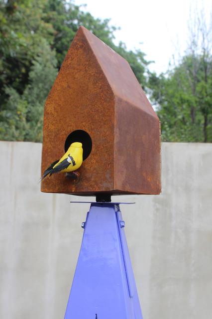 TerraTrellis Sculptural Wildlife Habitats modern-birdhouses