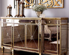 Mirrored Buffet/Console traditional-buffets-and-sideboards