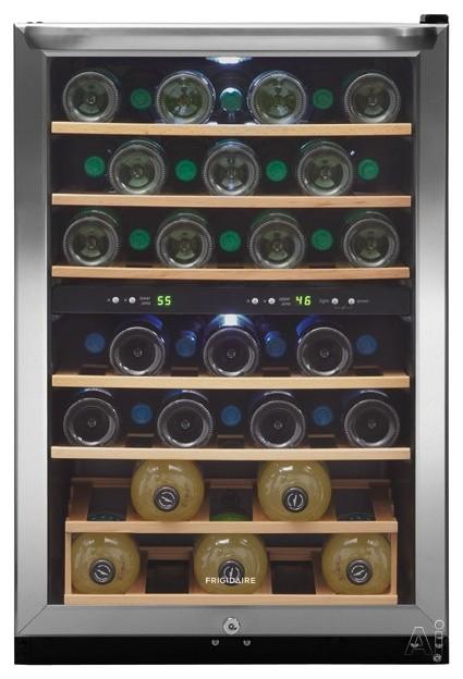 "Fridgidaire 22"" Freestanding Wine Cooler - Contemporary ..."