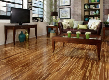 Morning Star Tiger Strand Bamboo Hardwood Flooring By