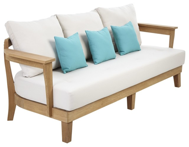 Roscana wooden sofa part of set contemporary garden for B q bedroom furniture sets