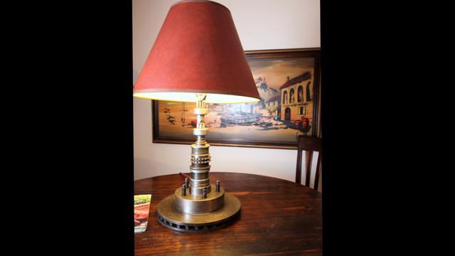 Repurposed Metal Desk Lamp modern-desk-lamps