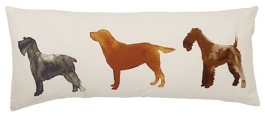 Scott Lifshutz Dog Daze Pillow Cover  pillows