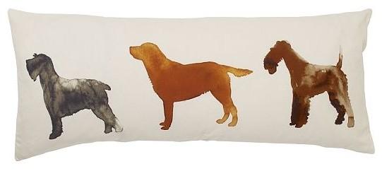 Scott Lifshutz Dog Daze Pillow Cover decorative-pillows