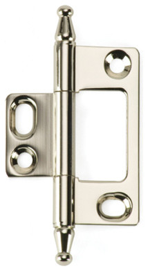 BH2A-NM-PN solid brass inset cabinet hinge traditional-home-improvement
