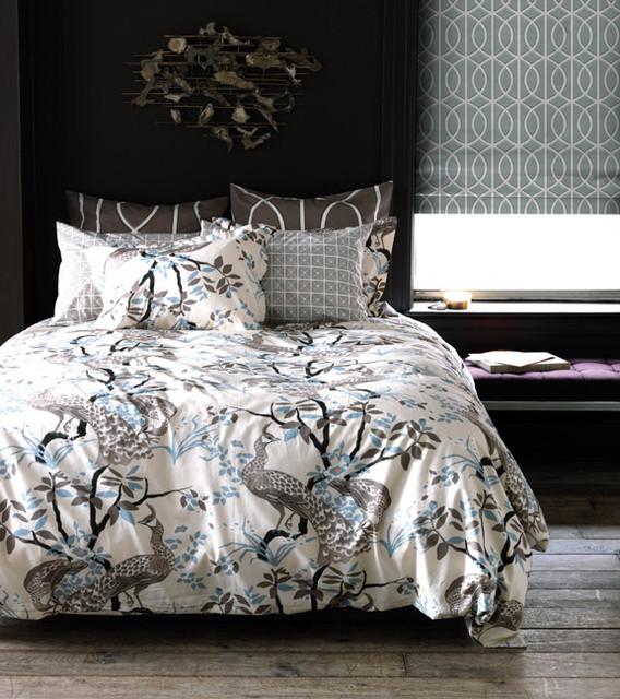 King duvet cover and shams set modern bedding by design public