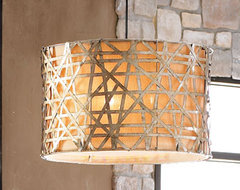 Alita Basketweave Lights contemporary chandeliers