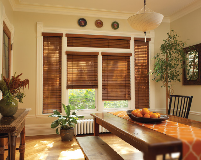 Hunter Douglas Chalet Woods Wood Blinds Contemporary Window Blinds New