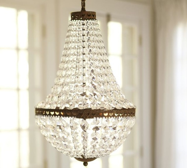 Mia Facted-Crystal Pendant traditional chandeliers