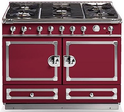 La Cornue Burgundy CornuF 110 traditional gas ranges and electric ranges