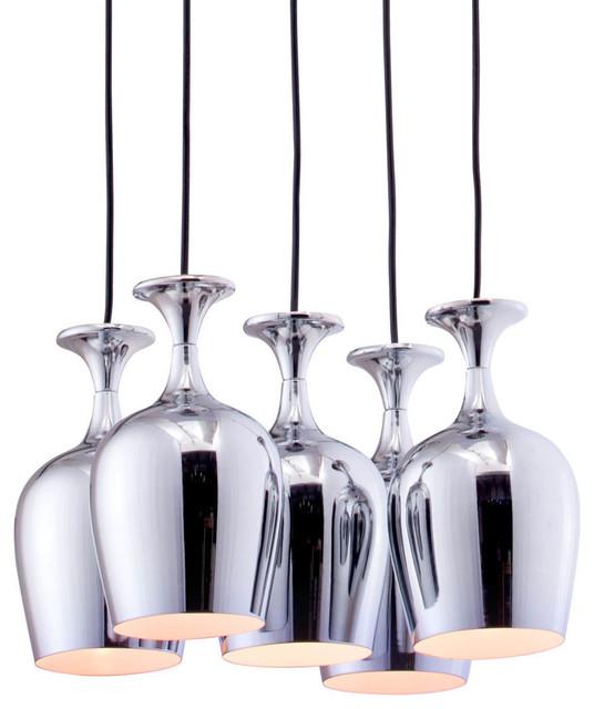 Ice Ceiling Lamp Chrome modern-ceiling-lighting