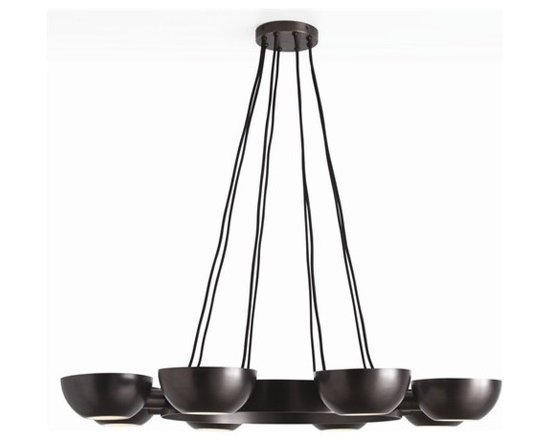 Arteriors Sorrel 8 Light Iron/Glass Chandelier - Sorrel 8 Light Iron/Glass Chandelier