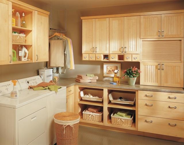 Kemper Lynnville Laundry Cabinets laundry-room
