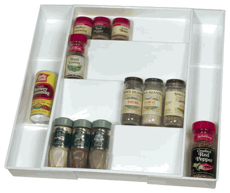 Expandable Spice Drawer - Modern - Spice Jars And Spice Racks - by ...