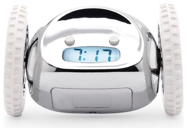 Clocky The Alarm Clock That Runs Away Eclectic Alarm