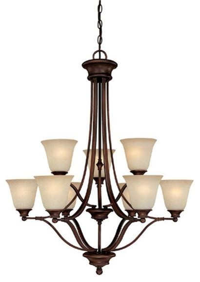Capital Lighting 3419BB-287 9 Light Chandelier Belmont Collection traditional chandeliers