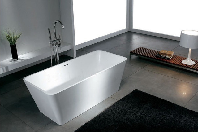 modern freestanding bathroom bathtub modern