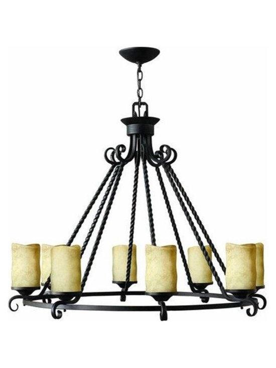 Hinkley Lighting 4308OL 8 Light Chandelier Casa Collection -
