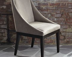 New Curved Upholstered Chair modern-armchairs-and-accent-chairs