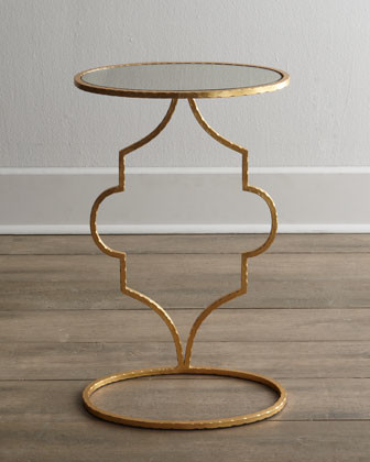 Floating Arabesque Side Table traditional-side-tables-and-end-tables