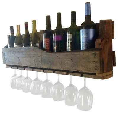 Isabella Wine Rack Rustic Racks By delHutson