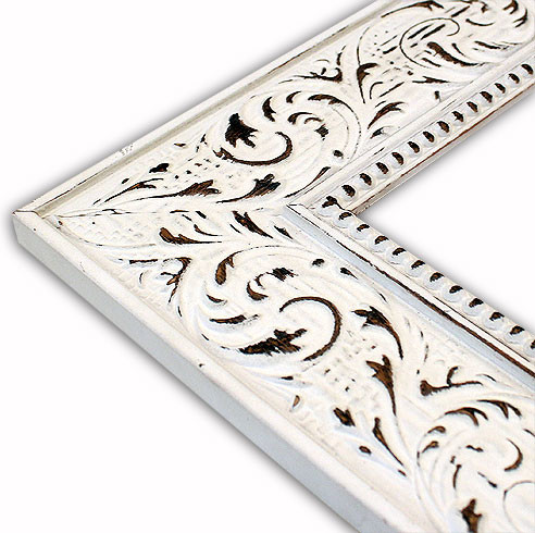 Victorian White Picture Frame-Solid Wood, 16x20 - Traditional - Picture Frames - by The Frame Guys