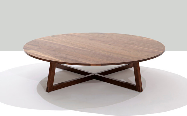 finn round coffee table contemporary coffee tables