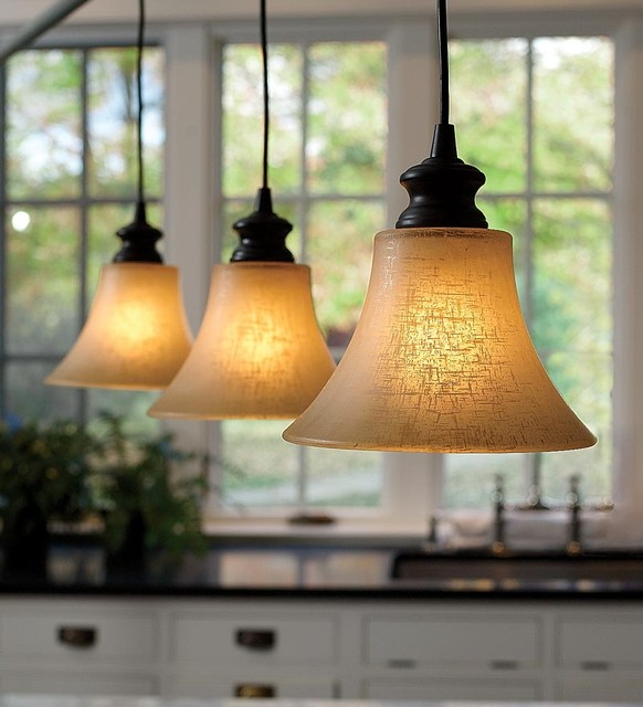 Screw In Textured Linen Glass Shade Pendant Lighting Midcentury Pendant L