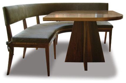 Neto Booth eclectic dining chairs and benches