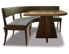 Neto Booth eclectic-dining-benches