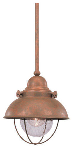Sea Gull Lighting 6150-44 Weathered Copper Sebring Transitional Down contemporary-bathroom-lighting-and-vanity-lighting