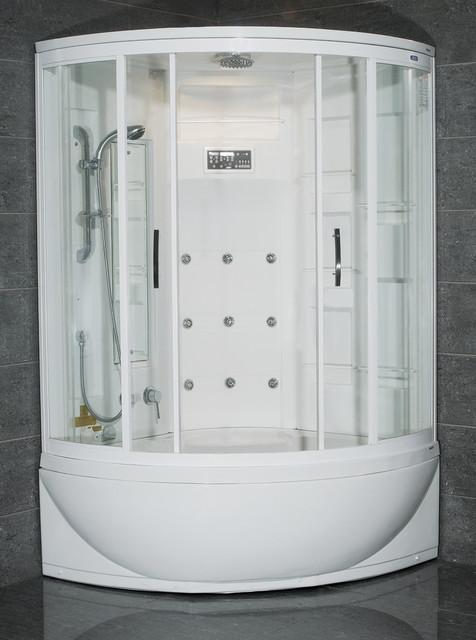 AmeriSteam ZAA212 Steam Shower Unit with Bathtub - Modern ...