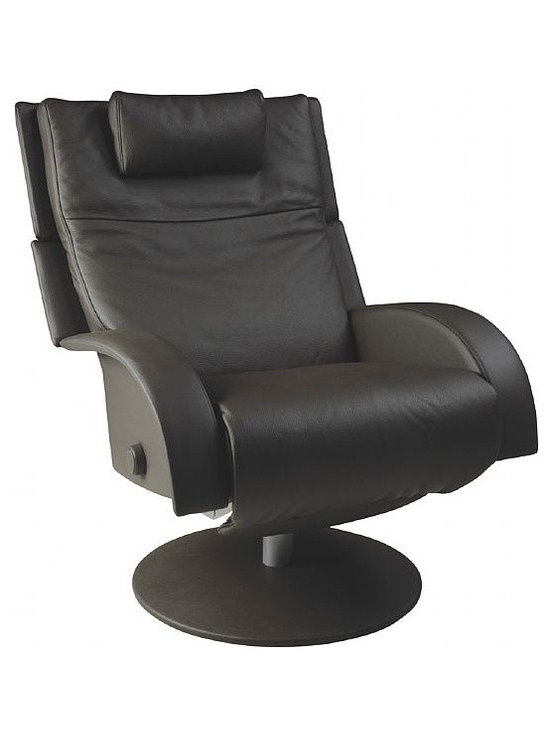 Nicole Swivel Recliner - Nicole features: