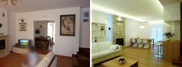 Apartment renovation modern