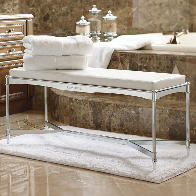 Belmont Vanity Bench Traditional Shower Benches Seats
