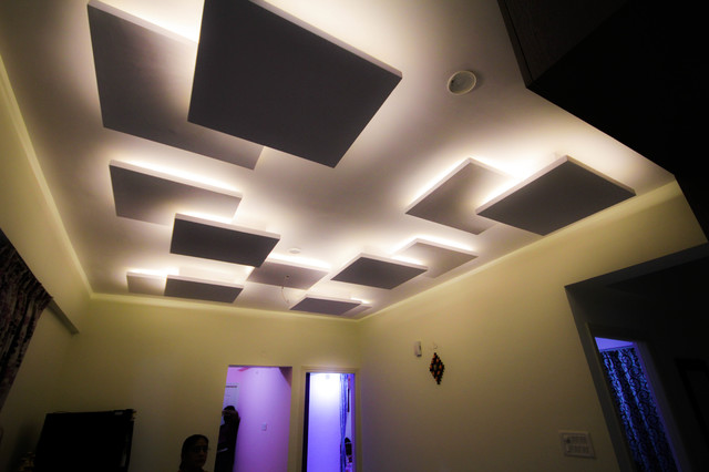 floating false ceiling contemporary other metro by bonito designs. Black Bedroom Furniture Sets. Home Design Ideas