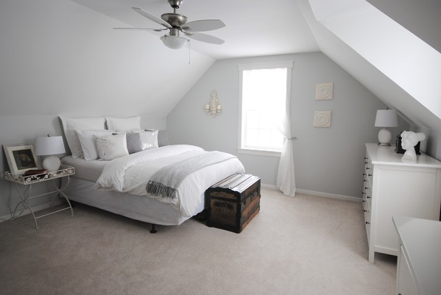 Turner Farmhouse Traditional Bedroom Other Metro