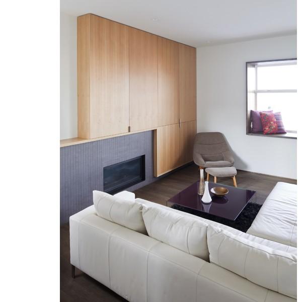 splyce design/build inc modern-living-room