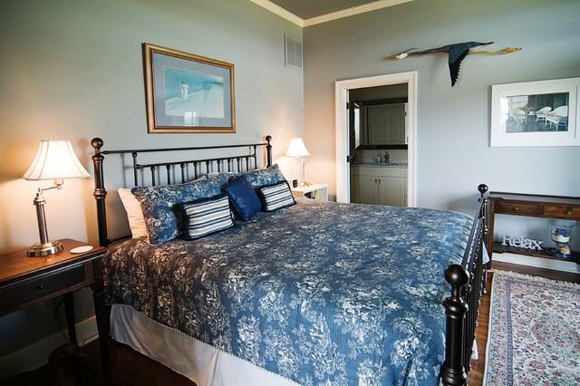 Martins Point Custom Home 2 beach-style-bedroom