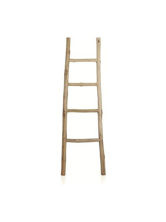 Teak Ladder -