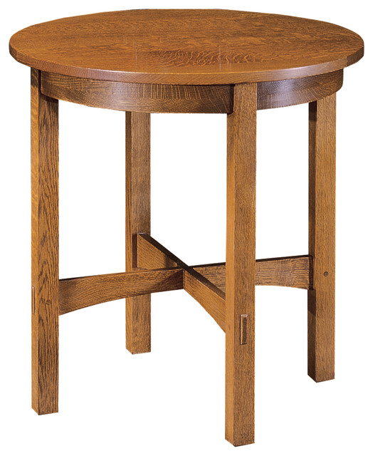 Stickley Round Lamp Table 89 91 536