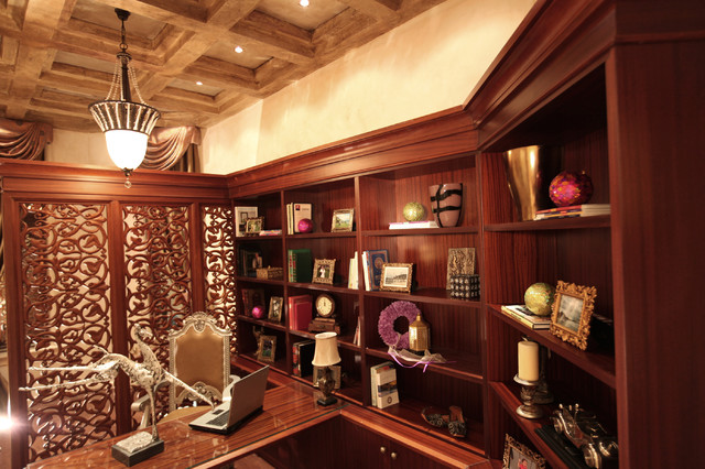 Regal Palace traditional-home-office