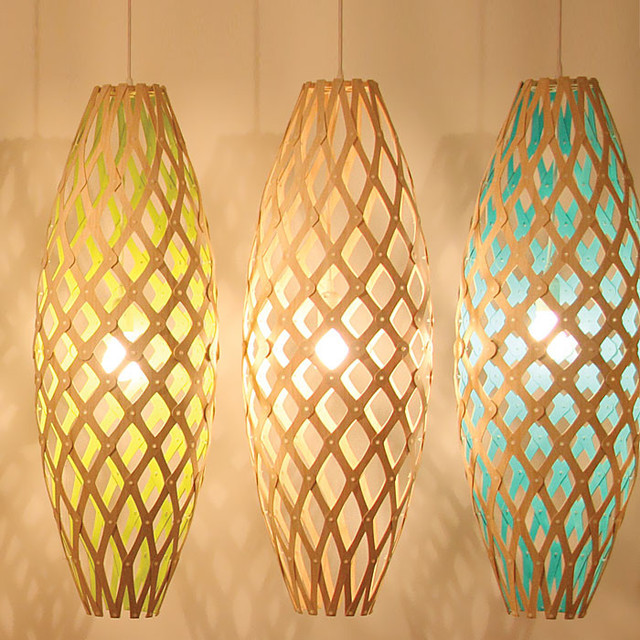 David Trubridge Hinaki Painted pendant-lighting