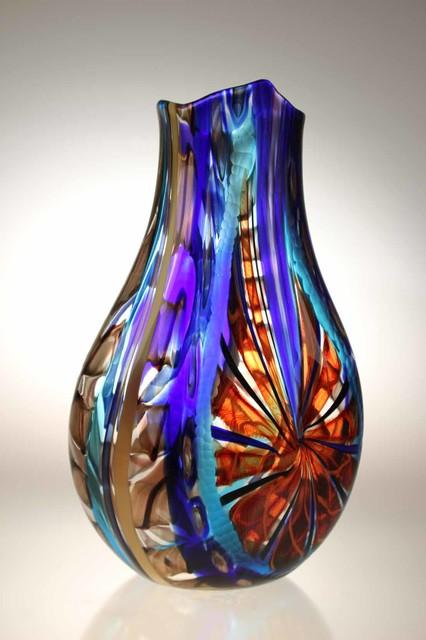 Murano Glass Studio Vases Modern Vases Adelaide By