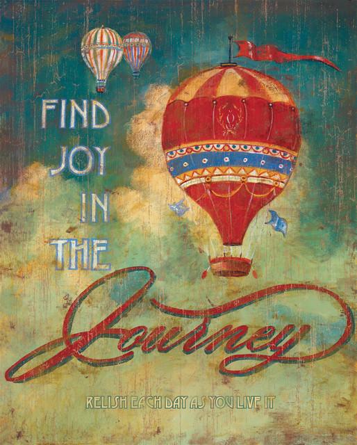 The joy of the journey prints joy in the journey artwork