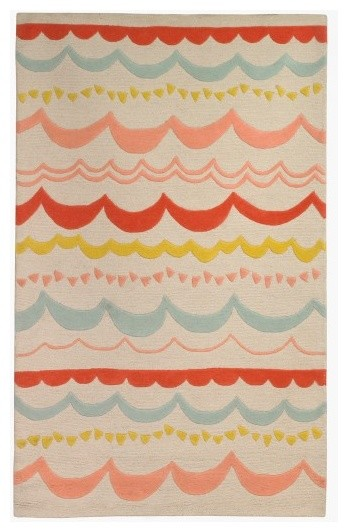 eclectic kids rugs by DwellStudio