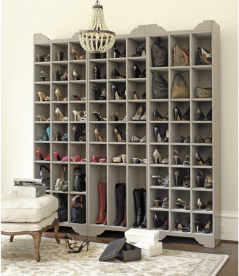 Sarah Storage Tower contemporary-shoe-storage