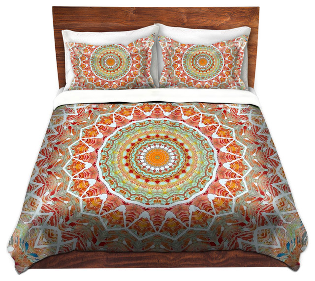 Duvet Cover Twill - Summer Lace contemporary-duvet-covers-and-duvet-sets
